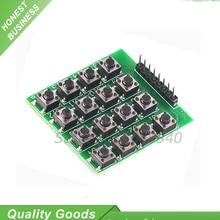 1PCS 16 Keypad Keyboard 4×4 4*4 Matrix Switch Module 16 Button Mcu for arduino Diy Kit 8pin 8-pin