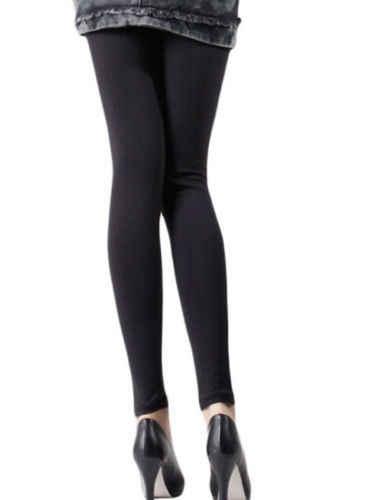 Moda 2015 Fit Moda Seksi Kadın Bayan Zarif PU Deri Dantel Dikiş Pantolon Tayt