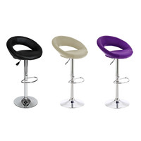 DOORSACCERY Modern Bar Stool Chairs Swivel Bar Stools Chairs Height Adjustable Large Load Bearing FREE SHIPPING