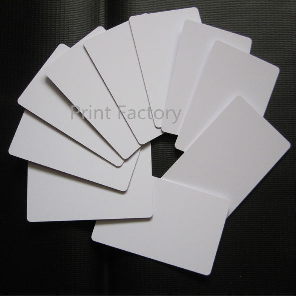 Printer Supplies Computer & Office Generous 50pcs/lot Inkjet Printer Tray Printable White Blank Pvc Id Card No Chip For Epson P50 A50 T50 T60 R390 L800 86 X 54 X0.76mm And To Have A Long Life.