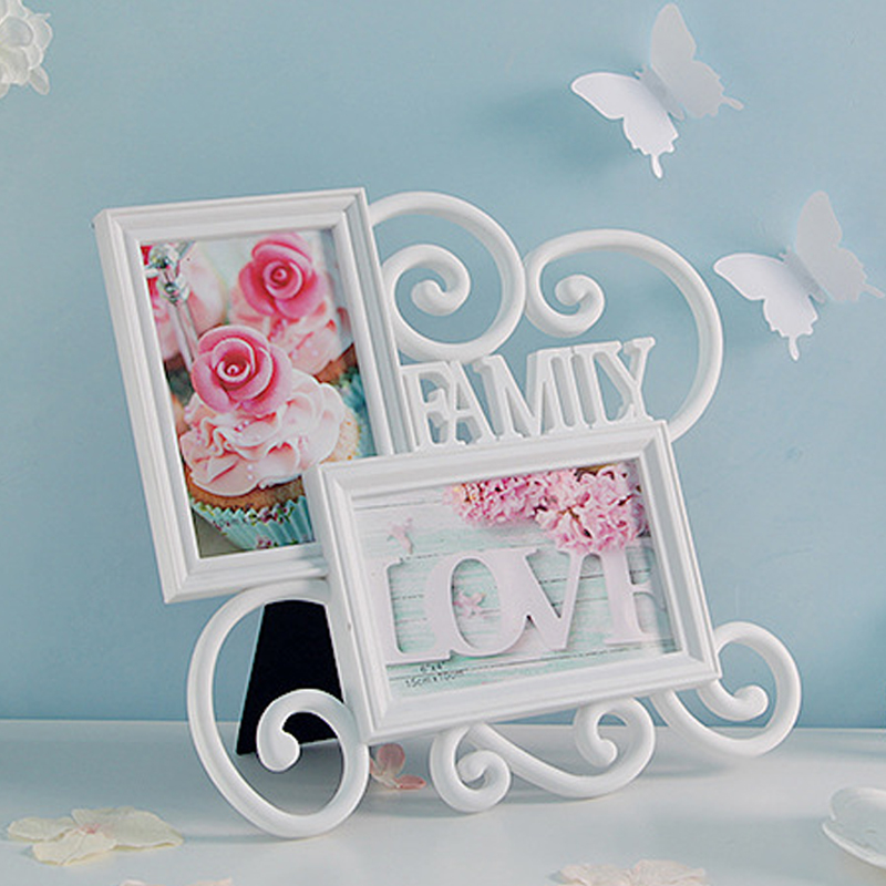 HOME Collage Table Frame 2 Openning 6 INCH Photo Picture Frame for Photo Studio Home Decoration