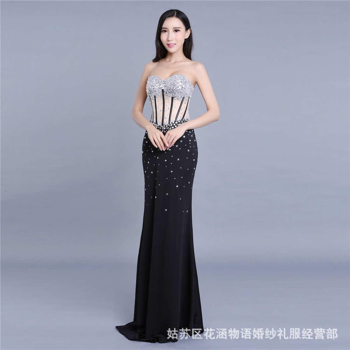 2237c976a5 2019 Sparkly Plus Mermaid African Prom Dresses with Gold Lace ...