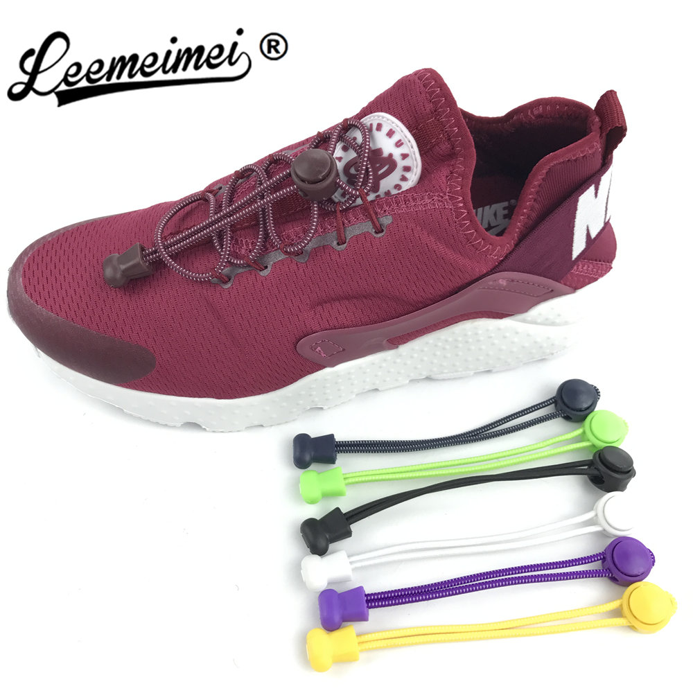 New Funny Gadgets Convenient Lock Colorful Elastic no lacci Silicone Shoelaces Lazy Shoe Laces sport for Sneaker