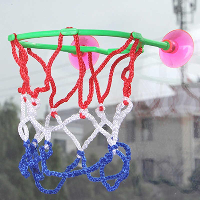 1 Pc Developmental Basketbal Machine Kids Volwassenen Draagbare Zuignap Mini Speelgoed Basketbal Hoepel Cadeau Voor Kinderen Speelgoed