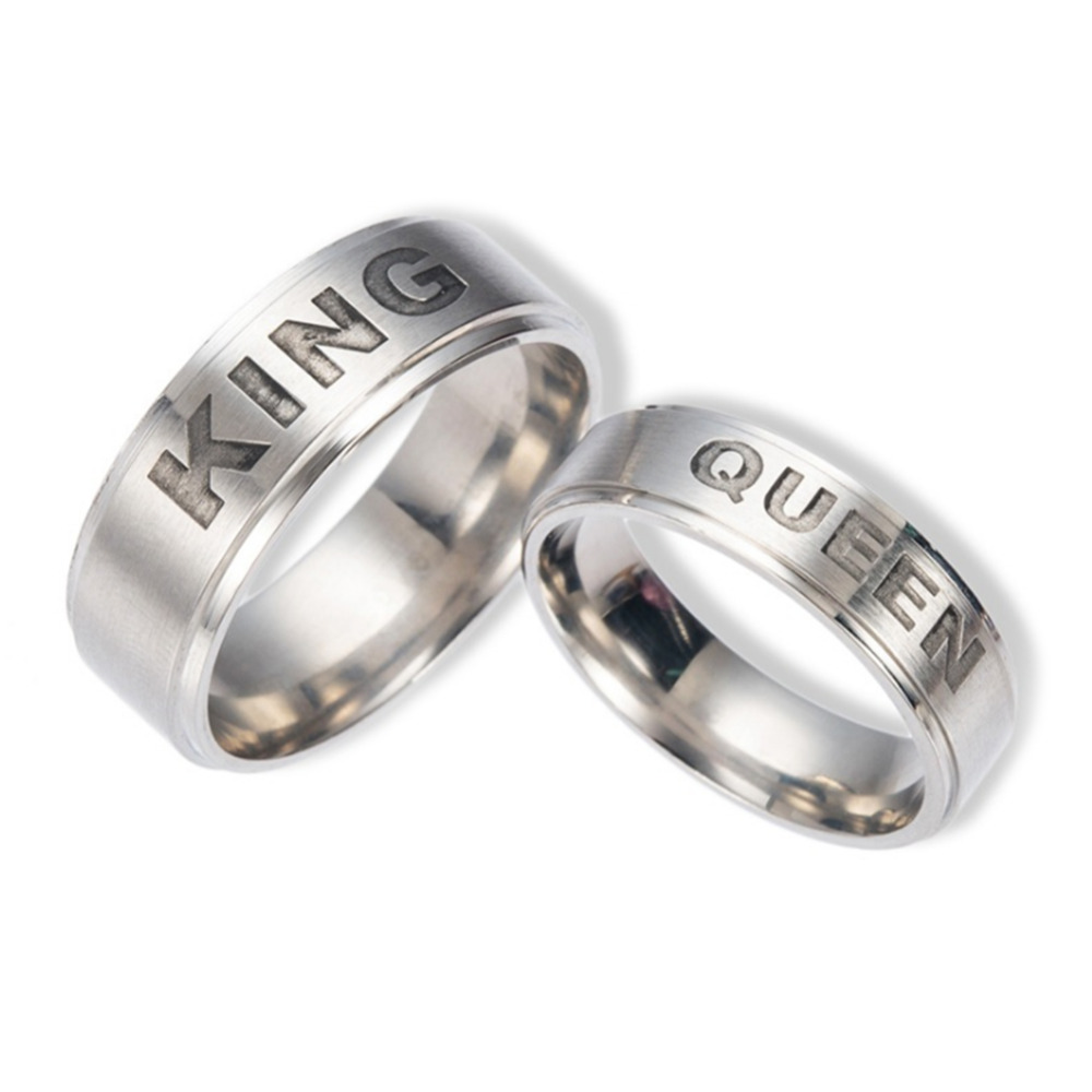Popular Crown Promise Rings for Couples-Buy Cheap Crown Promise ...