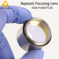 Raytools D30mm F100mm F125mm Laser Focus Focusing Lens For Fiber Laser BT210 BT240 BT240S Cutting Head