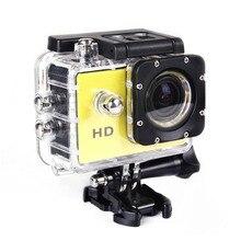 Ao ar livre Mini Câmera HD 720 P Ir 30 M Pro Capacete Da Bicicleta À Prova D' Água Esporte DV Ação Cam Micro Câmera