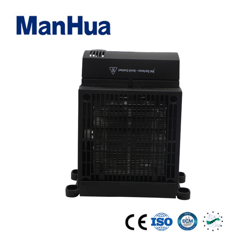 Manhua 120VAC 50/60Hz 950W MHR030 Intelligent Temperature Control Durable Simple Black Compact And Efficient Fan Heater manhua conpact design long service life 230vac 50 60hz 250w hgl 046 fan heater