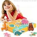 3 стиля  Набор пазлов  Монтессори  игрушки для детей  для девочек и мальчиков  для раннего обучения  пазлы  Танграм  передние и задние Пазлы