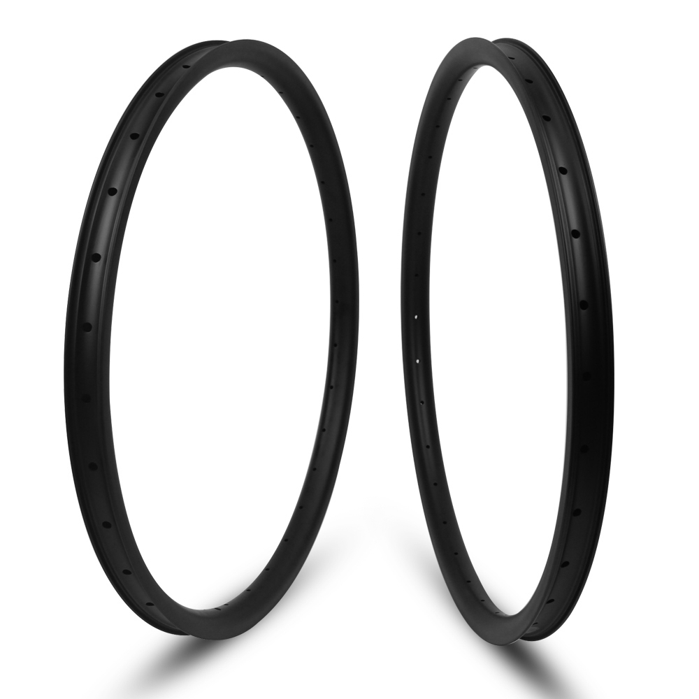 YuanAn 27.5er MTB Rim Hookless/Asymmetric Tubeless Carbon Rims For DH/AM/XC/Enduro Mountain Bike Wheels 24/27/30/35/40mm Width цены онлайн