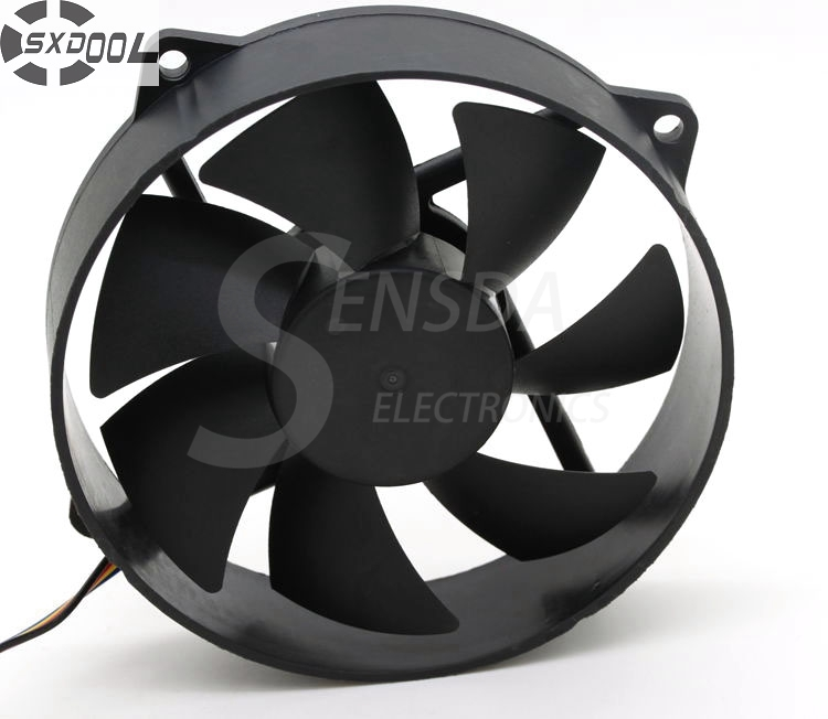 SXDOOL CA9525FP65 9025 12V 90mm 9cm computer case Silent quiet CPU cooler thermostat cooling fans колпачки на нипель черные 4шт