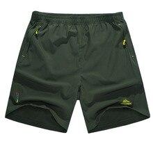 Sommer-beiläufige Mens Polo Shorts Einfarbig Quick Dry Armee Shorts Männer Lose Kurze Hosen Plus Größe L-5XL