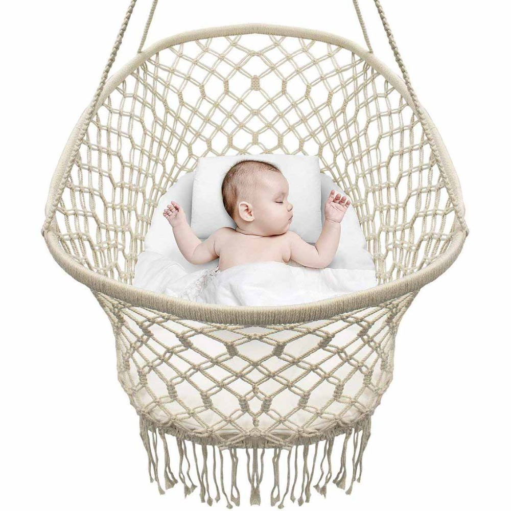 Baby Crib Hanging Cradle, Hanging Bassinet and Portable Swing for Baby Nursery corn bran baby crib bassinet 14 colors for choosing for 0 6 months little kids cradle cute and fancy for boys or girls hot