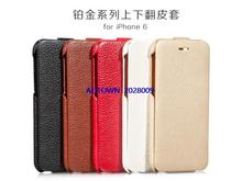 2014 New arrival 20pcs Hot Sale Original HOCO Vertical Flip leather case cover For iPhone 6
