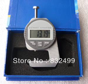 Mini Digital Thickness Gauge for paper  film  leather|Level Measuring Instruments|Tools -