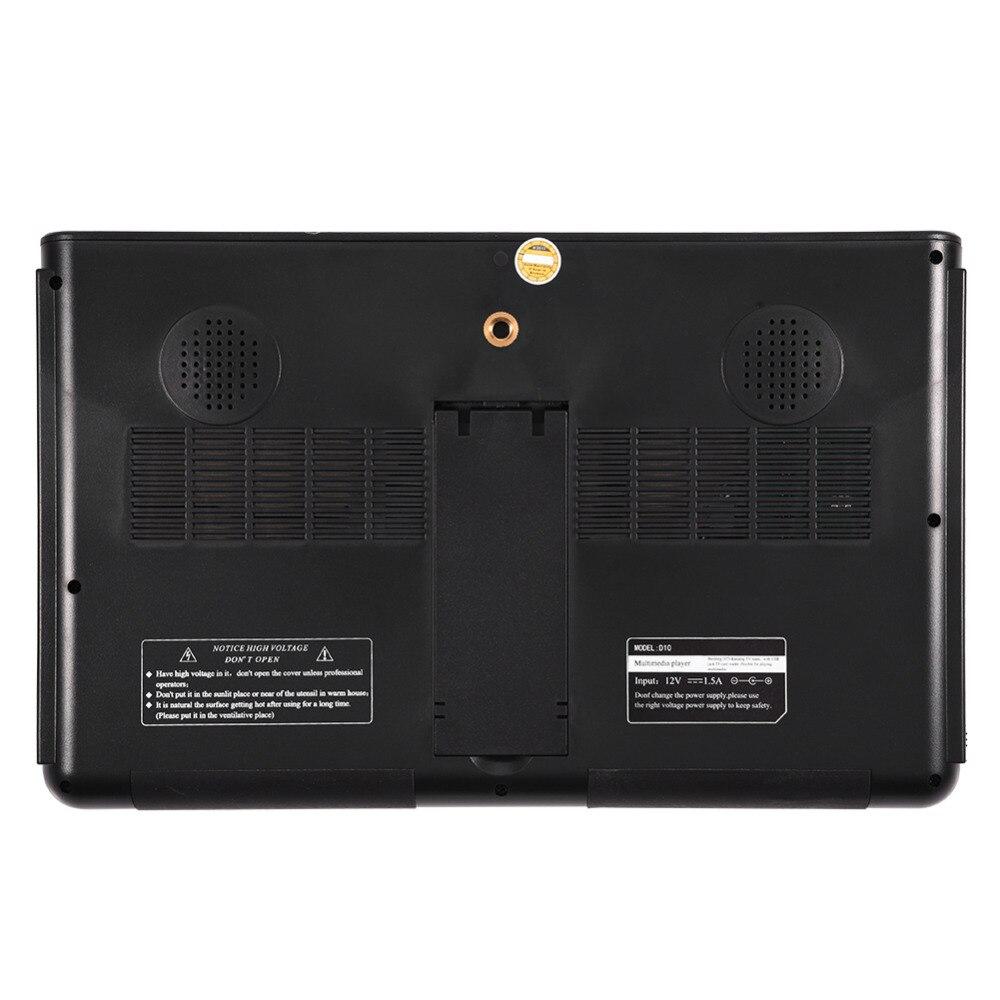 leadstar 10inch portable tv dvb t2 digital analog. Black Bedroom Furniture Sets. Home Design Ideas