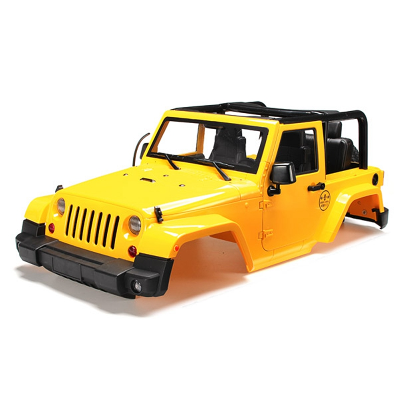 Brand New 1/10 RC Remote Control Truck Hard Body Shell Canopy Rubicon Topless For SCX10/D90 esspero canopy