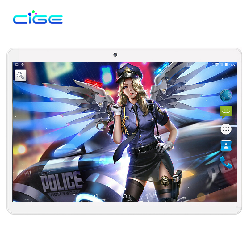 CIGE 2018 Newest Free Shipping 10.1 inch Tablet PC MTK6582 Quad Core 2GB RAM 16GB ROM Android 7.0 GPS 3G 1280*800 IPS Tablet 10 lnmbbs 10 1 inch google play tablete 3g dual cameras wifi 4 core 7 0 android 2gb ram 16gb rom fm gps gifts card 1280 800 ips 5mp