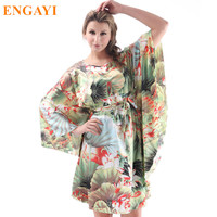 New Fashion Silk Satin Women Nightdress Night Dress Plus Size Nightgown Night Gown Sexy Female Sleepwear
