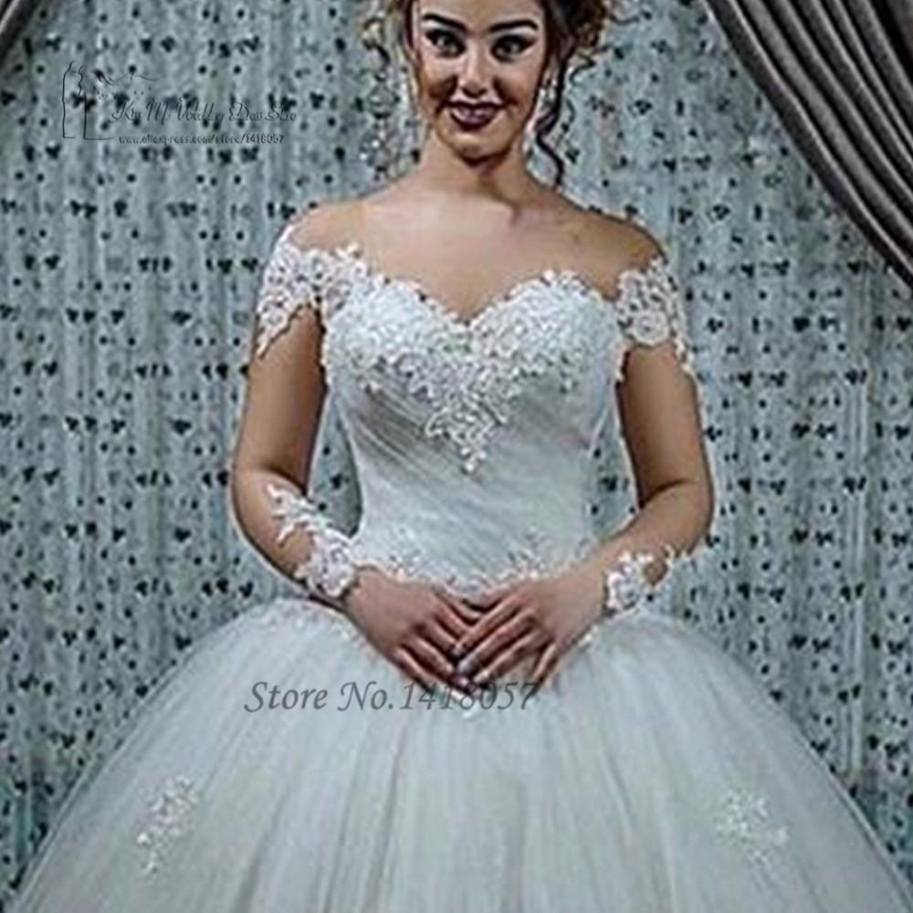 Robe de Mariage Fashion Puffy Ball Gown Wedding Dresses Turkey China ...