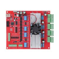 1 Set MACH3 CNC USB 100Khz Breakout Board 4 Axis Interface Driver Motion Controller