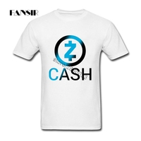 Zcash Men T Shirts Online Designer Tee Shirt Men S Short Sleeve Cotton Custom Plus Size