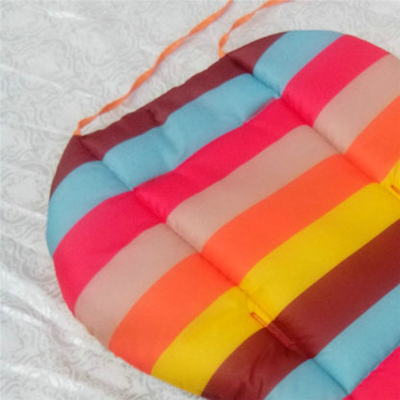 Baby Stroller Rainbow Soft Cushion