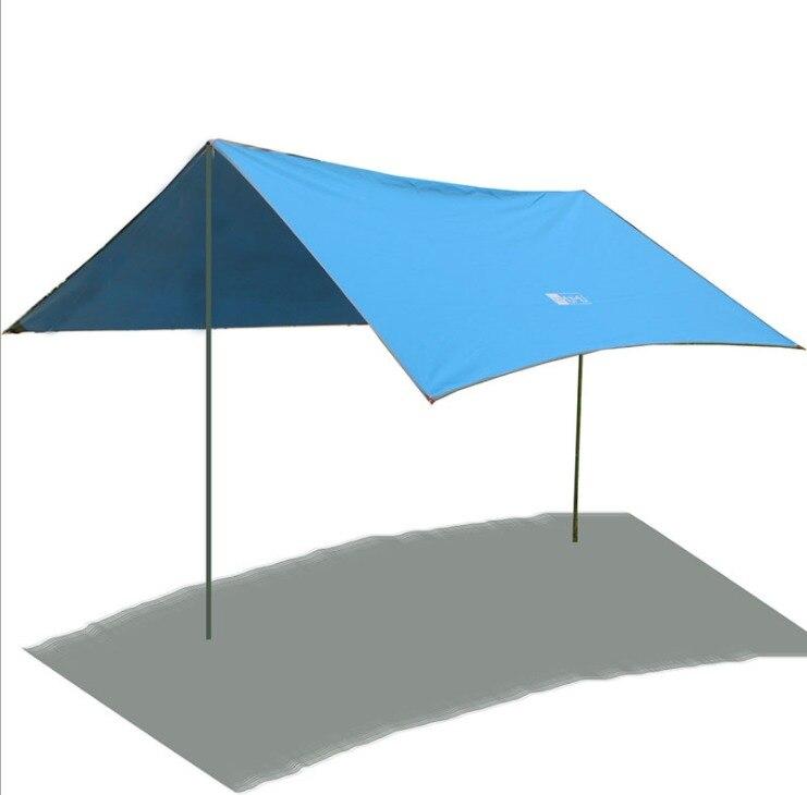 Tende Pioggia Shelter Fly Tarp Baldacchino Amaca Doppia di Campeggio  Esterna Famiglia 3 m   3 m in Tende Pioggia Shelter Fly Tarp Baldacchino  Amaca Doppia ... 80e0efbc1ed