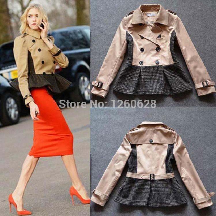 Compare Prices on Coat Beige Black- Online Shopping/Buy Low Price ...