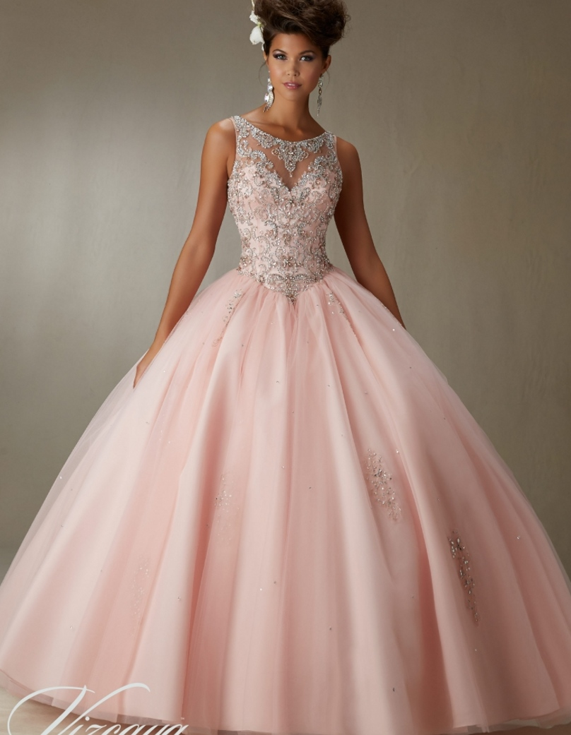 Rose Pink Wedding Dress Gallery