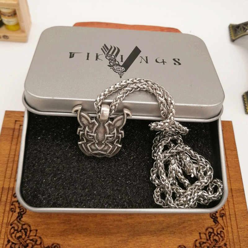 Celtics lisa węzeł wisiorek naszyjnik mężczyźni kobiety pogański Norse biżuteria Viking Drop Shipping