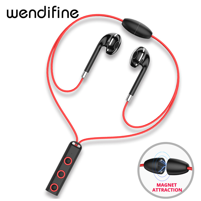 Bluetooth earphone in ear Wireless earphones Sport magnetic earpiece with microphone bluetooth earbuds for mobile phone xiaomi