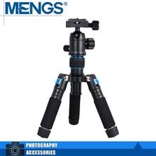 MENGS K521 Blue Tabletop MINI Tripod + Ball Head For DSLR Camera, Camcorders, Smartphones, Spotting Scopes(14100002401)
