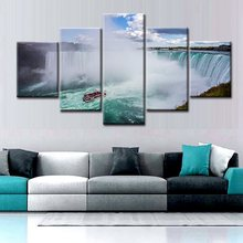 Dropship Poster Niagara Falls Seascape and Landscape Picture Wall Art Canvas Print Artwork Painting for Office Hotel Home Decor neil sedaka niagara falls