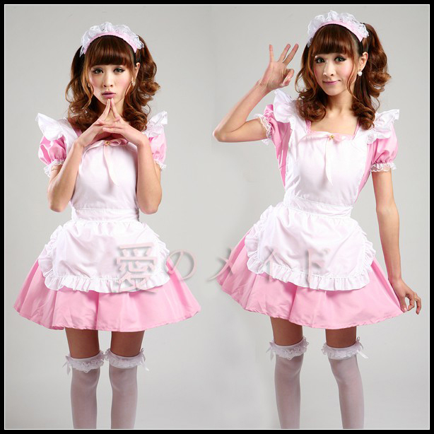 Free Shipping Cheap Japan Akihabara Lolita Maid Anime  cosplay Clothes Halloween Dress