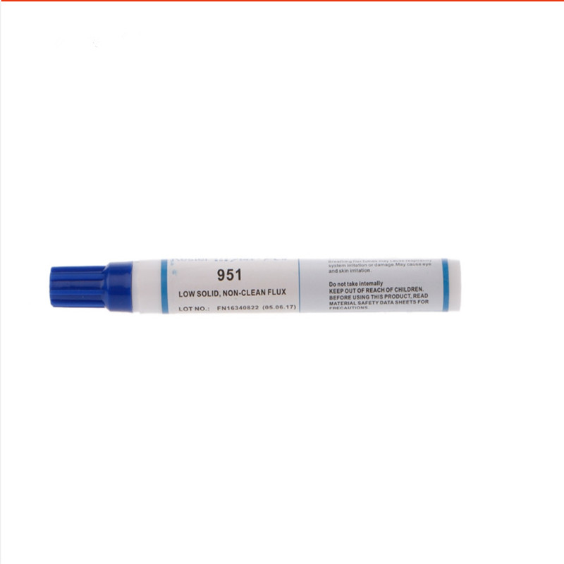 1pcs 951 Soldering Rosin Flux Pen Don't Need Clean Low-Solid For Soldering PCB Power Panel And Electronic Repair Solder Helper