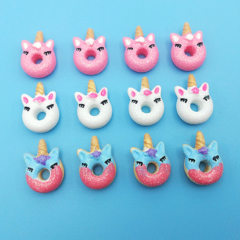 Happy Monkey 5pcs/10pcs/20pcs/pack Slime Charms Toys Resin Glitter Animal Slime Supplies DIY Filler For Fluffy Clear Cloud Slime