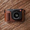 Mr. Stone ручной работы из натуральной кожи чехол для камеры видео половина сумка боди для камеры Leica Q Q2 камера typ116