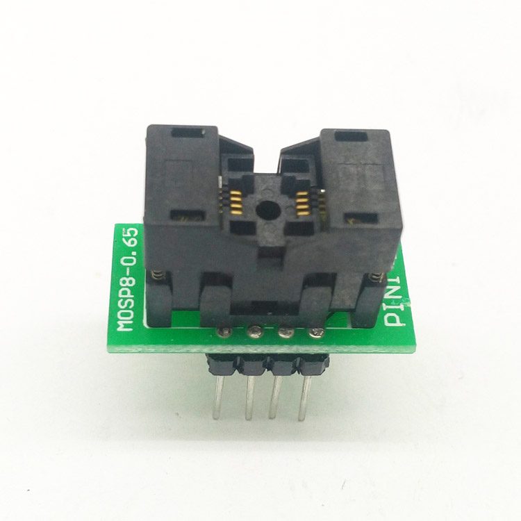 цена на 1pcs MSOP8-0.65 Burn Block Test Block Programming Block SSOP8 PCB Board Write Block
