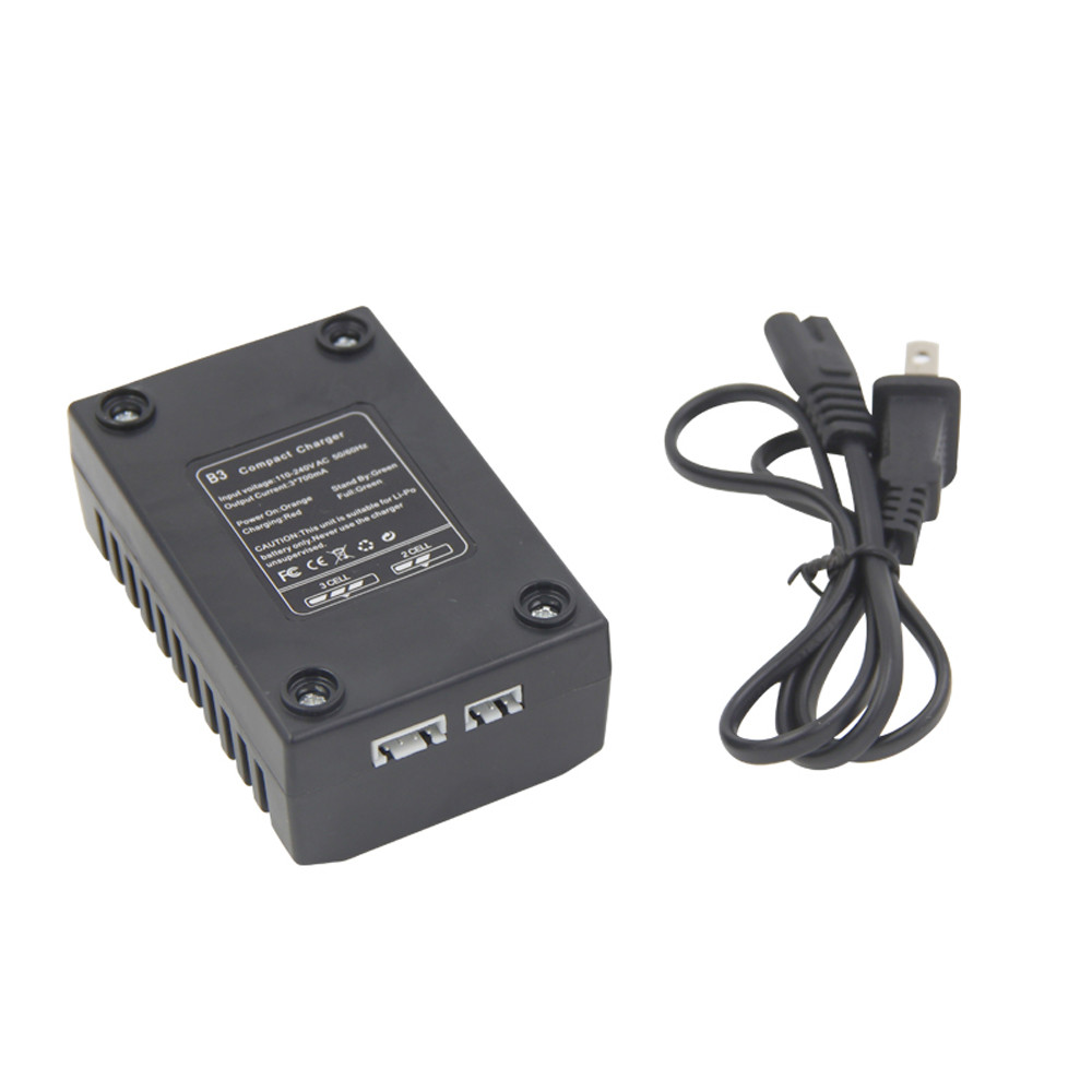 B3 Lipo Battery Balance Charger 7.4 V 11.1 V 2 S 3 S 110-240 V For Quad US Plug / EU Connection free shipping
