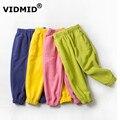 VIDMID мальчиков и девочек брюки хлопок брюки брюки полная длина капри брюки брюки мальчиков брюки детские брюки 1097