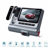 Call Traffic Recorder 96625Chip 30PF Full HD 1080PDrive Recorder Multi Function DVR Car Bluetooth Headset Recorder