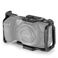 SmallRig DSLR Camera BMPCC Cage for Blackmagic Design Pocket Cinema Camera 4K BMPCC 4K With Nato Rail Cold Shoe Mount 2203