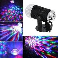 Lumiere LED RGB Musica Stage Lights 110-240 V DMX Disco Club DJ Light Show Del Proiettore Lampadina di Cristallo Magic Ball dj effetto illuminazione