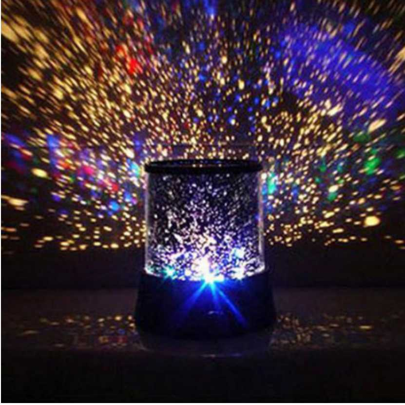 LED Children's Night Projector Colorful Star Master Sky Starry Moon Night Light For Baby Creative Gift Led Projection lamp the starry sky iraqis projection lamp home night light for christmas