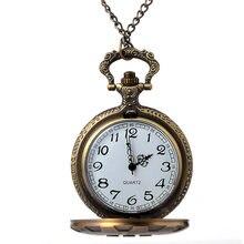 Cindiry винтажные Модные кварцевые карманные часы серебряного