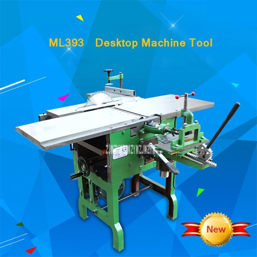 Molinillo de herramientas multiusos ML393/motosierra/cepilladora de madera eléctrica, maquinaria de carpintería de escritorio, 220 V/380 V 2.2KW 6,5 m/min - 5