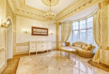 Laeacco Luxury Palace Chandelier Window Curtain Sofa Photography Backgrounds Customized Photographic Backdrops For Photo Studio