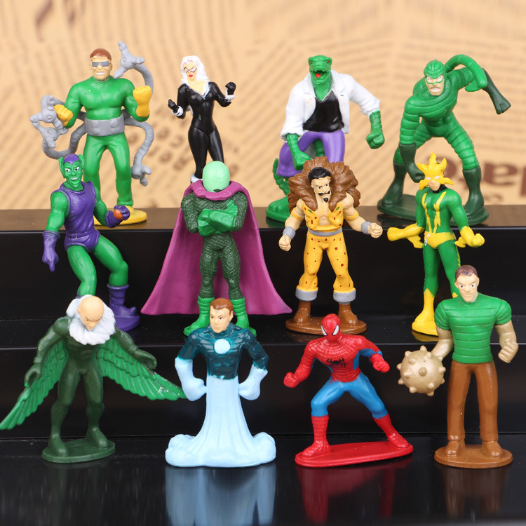 12PCS/Lot Movie Spider man Homecoming Venom Carnage ...