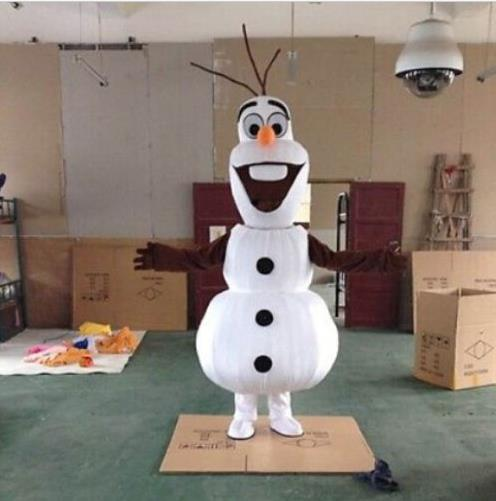 Factory Outlet  Olaf Mascot  Olaf Mascot Costume Free Shipping